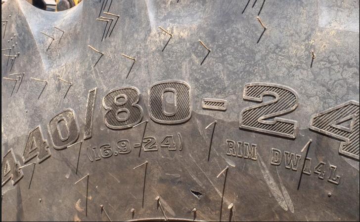 маркировка шин для экскаваторов погрузчиков